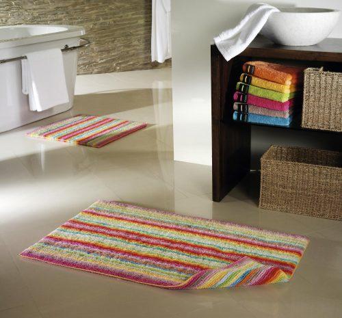 Badmat Life Style Multicolor Lichte Streep sfeer cawö