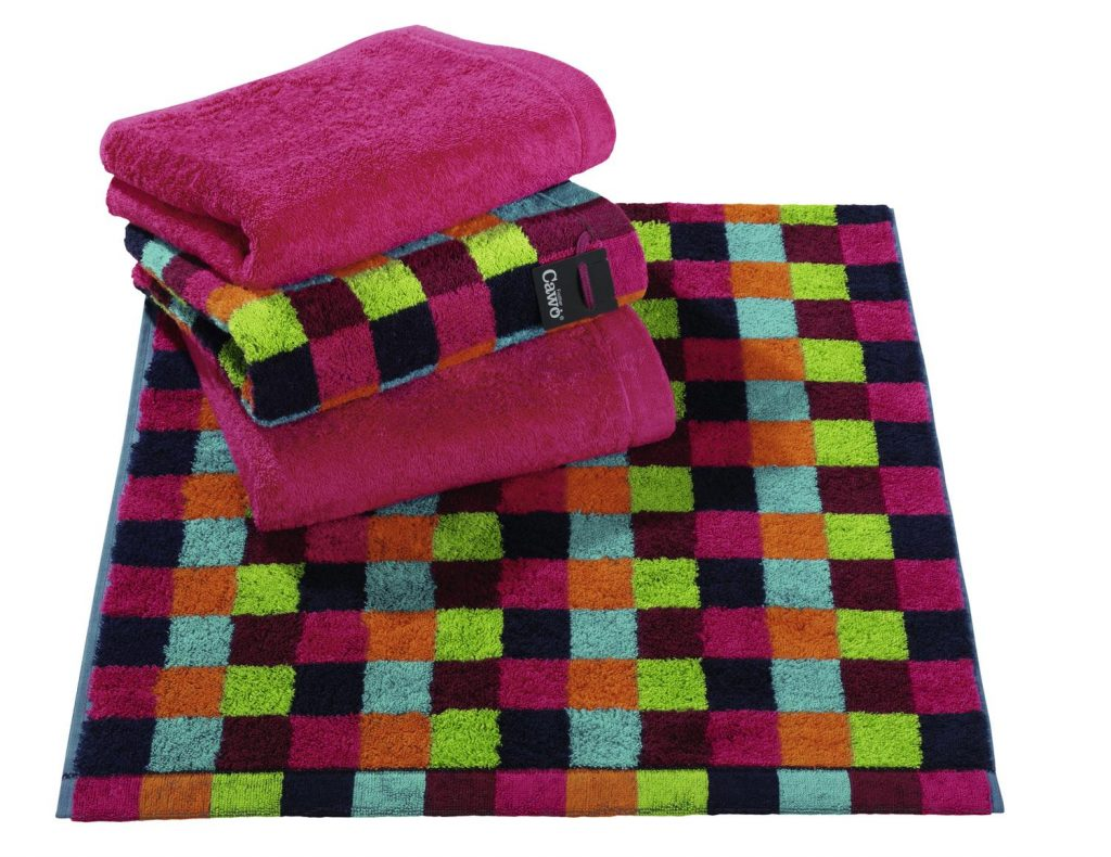 Badtextiel Life Style Multicolor Donkere Ruit