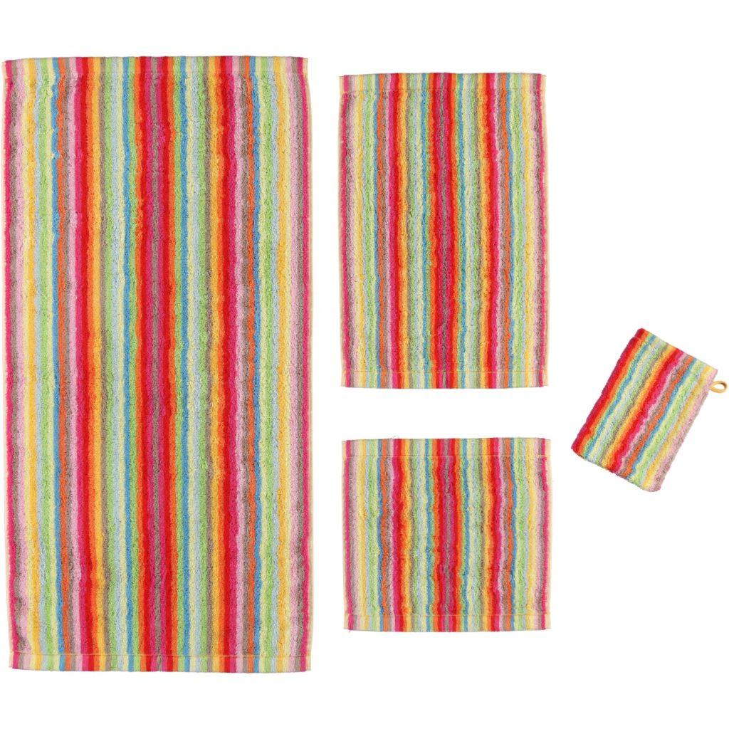 Badtextiel Life Style Multicolor Lichte Streep