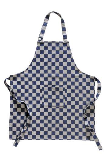 Keukenschort Pompdoek Blauw