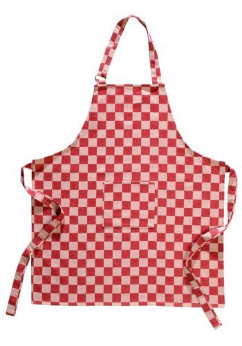 Keukenschort Pompdoek Rood