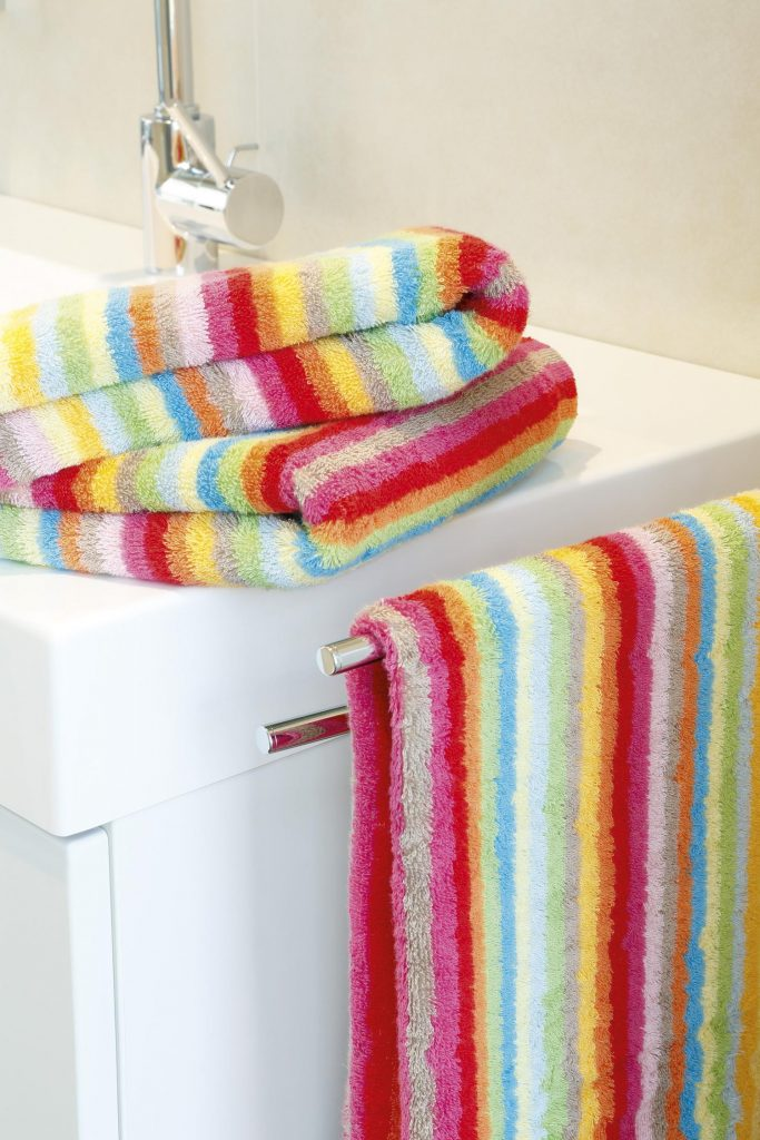 Washand Life Style Multicolor Lichte Streep