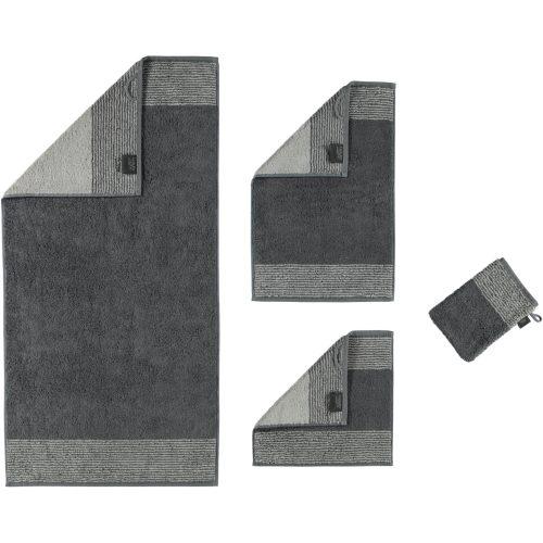 Badtextiel Two-Tone Leisteen