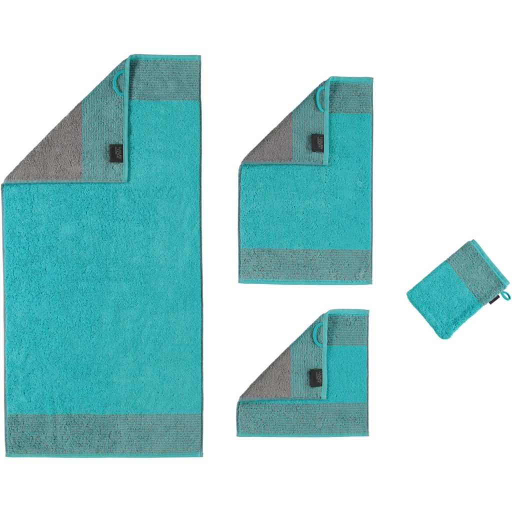 Badtextiel Two-Tone Turquoise