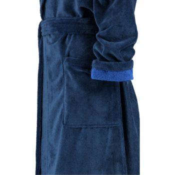 Dames badjas Lago blauw mouw