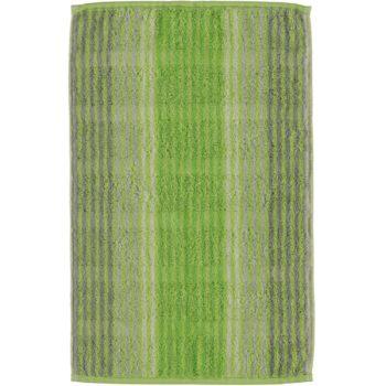 Handdoek Noblesse Cashmere Streep Kiwi