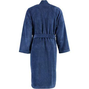 Heren badjas kimono Lago blauw achterkant
