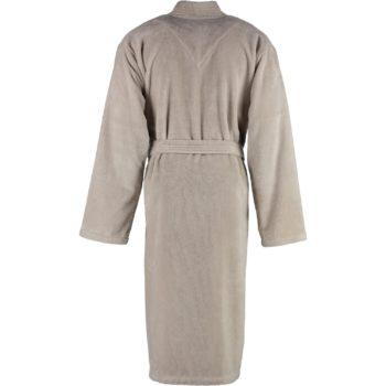 Heren badjas kimono stijl Lago Natuur achterkant