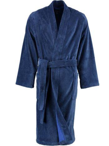 Heren badjas kimono stijl Lago voor blauw