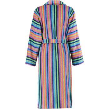 Cawö dames badjas met rits voor