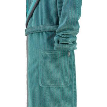 Heren badjas met capuchon Cawö mouw