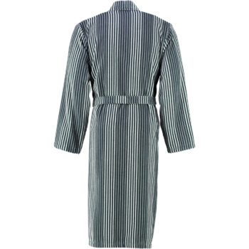 Jeugdige Lichtgewicht Kimono Cawö grijs achterkant