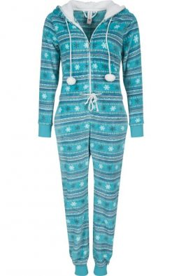 Jumpsuit Turquoise Rebelle voorkant
