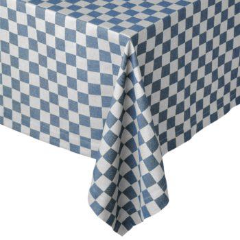 Tafellaken Pompdoek Blauw