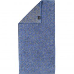 Badtextiel Cawö Two-Tone Allover Blauw