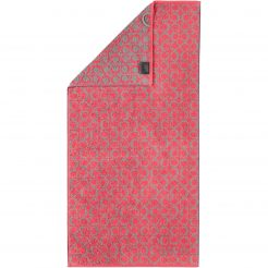 Badtextiel Cawö Two-Tone Allover Rood