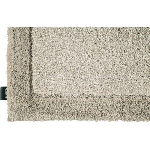 Cawö Luxery Home Antislip Badmat Two-Ton Zand detail