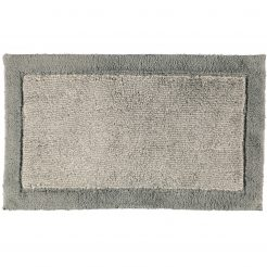Cawö Luxery Home Antislip Badmat Two-Tone Grafiet