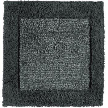 Cawö Luxery Home Antislip Badmat Two-Tone Leisteen 60 x 60 cm