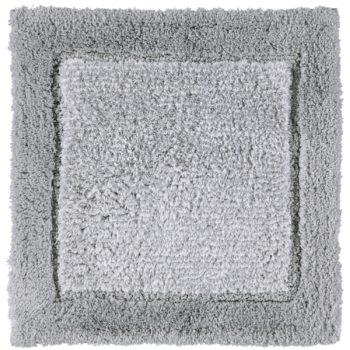 Cawö Luxery Home Antislip Badmat Two-Tone Platina 60x60 cm