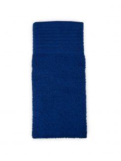 aanbieding baddoeken kleur navy blauw