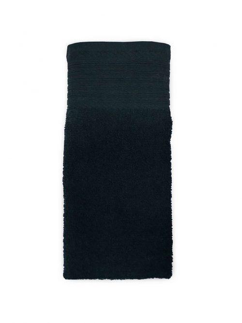 Aanbieding baddoeken zwart