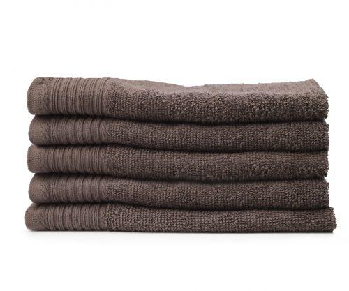 Aanbieding extra zware kwaliteit handdoeken taupe