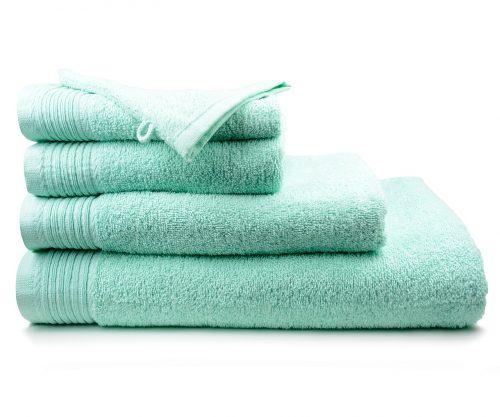 Aanbieding handdoeken kleur Mint