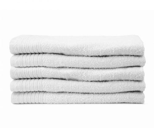 Aanbieding witte handdoeken