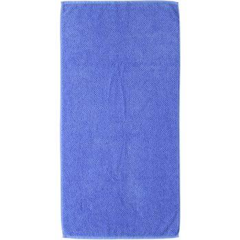 Handdoek s.Oliver blauw uni