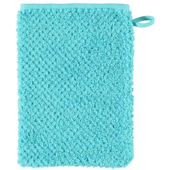 Washandje s.Oliver turquoise uni