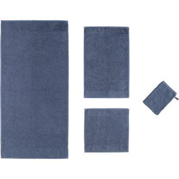 Collectie badtextiel Ambiente Uni Nachtblauw