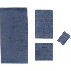 Collectie badtextiel Noblesse_ Uni Nachtblauw
