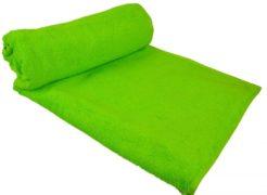 Strandlaken Saunahanddoek XXL 100×210 lime groen