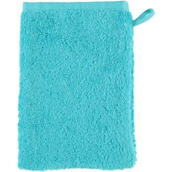 Washandje Unique Doubleface Turquoise