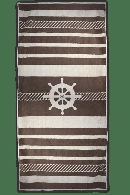 T1 sailor Strandlaken The One Sailor bruin/creme