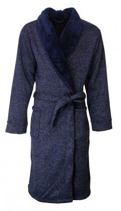 Dubbeldikke winter badjas voor heren